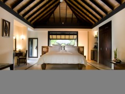 Beach Villa - The luxurious and very tasteful interior of the Beach Villas will ensure your taste as well.