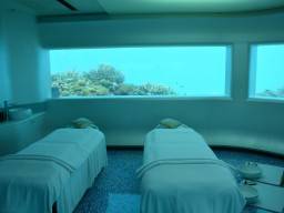 Spa area of the Huvafen - Treatment rooms in a special and comforting environment guarantee absolute relaxation.