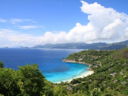 Anse La Liberte - Magnificent views of the bay Anse La Liberte.