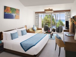 Oceanview room - Bright and comfortable rooms with a nice view