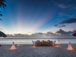 Dinner on the beach - Leave your shoes at home and treat yourself with culinary delights on the beach.