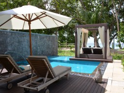 Beach Villa - The luxurious and spacious Beach Villas ensure perfect privacy with direct beach access.