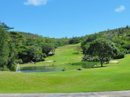 Golf course - A beautiful 18 hole golf course nestled in nature.