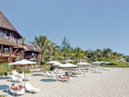 Beach zone - At the beach area, there are enough umbrellas and beach chairs for all guests available.
