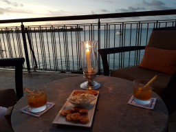Royal Palm Beachcomber Luxury sunset cocktail & more