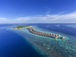 Hurawalhi Island Resort - The island offers a very high standard in all categories and will also convince you.