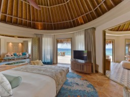 The Nautilus Maldives - Huge private villas are offering lots of privacy.
