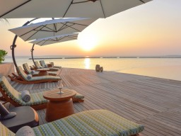 The Nautilus Maldives - Enjoy beautiful sunsets.