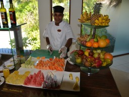Fresh fruits - The rich cuisine always offers the freshest fruits and delicacies from all around the world.