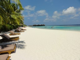 Powder white sandy beaches - Sugar fine sandy beaches stretch around the island and offer the ideal retreat for your feets.
