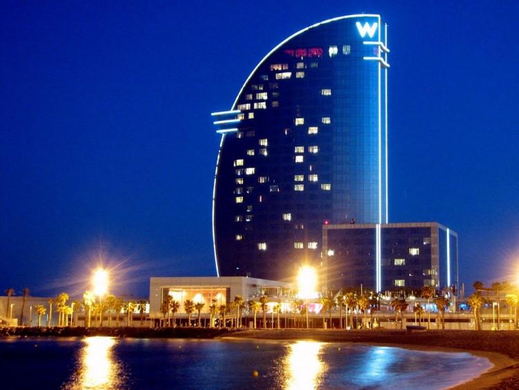 Hotels in europe w barcelona oceandreams more gmbh for Hotel barcelona w