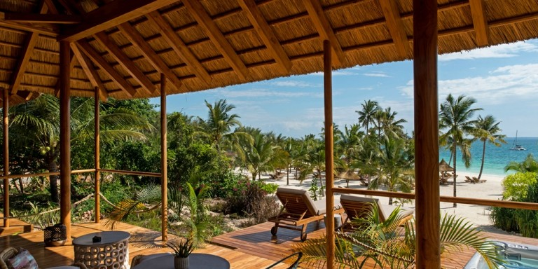 ZURI ZANZIBAR - Beautiful view from an Oceanview Bungalow.