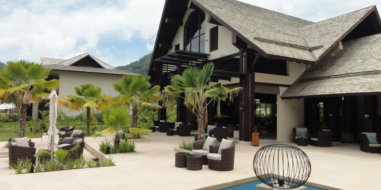 Lobby of the H Hotel - Look at the comfortably furnished lobby of H Resort Beau Vallon Beach.