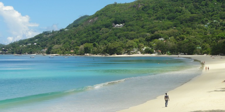Beau Vallon Beach - Take a long walk on the beach