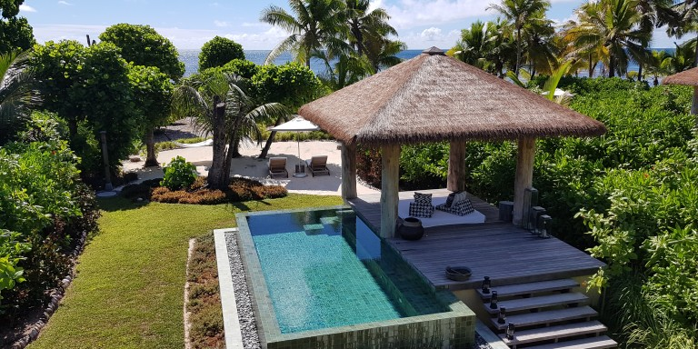 Privat Pool Villa Four Seasons Resort Seychelles at Desroches Island
