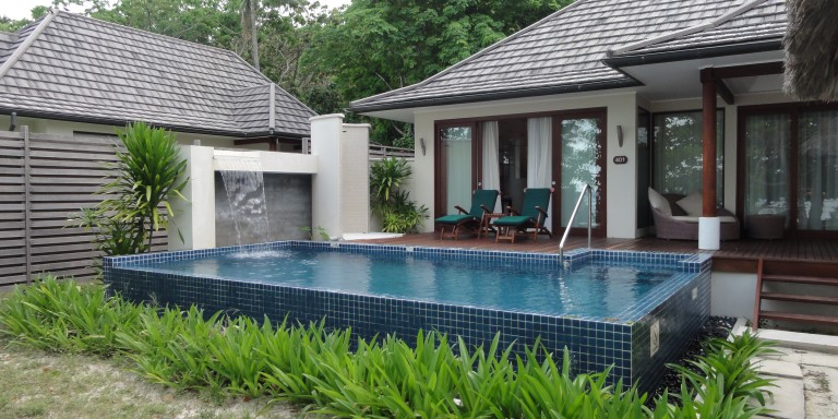 Deluxe Beachfront Pool Villa  - Enjoy absolute privacy in your own little empire.