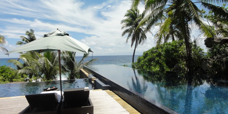 Pure relaxation - Relax in the infinity pool surrounded by beautiful nature