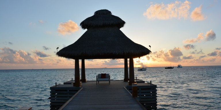 Romantic evening atmosphere - Romantic sunsets and relaxing walks along the beach, just the perfect relaxation.