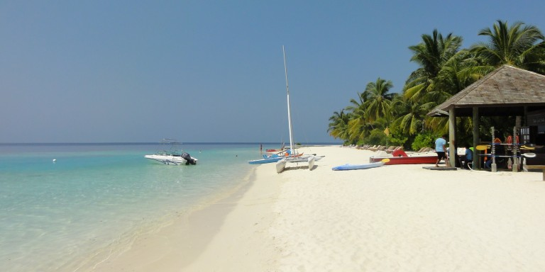 Beachside on Lily Beach  - Relax on this dream beach which goes around the island.